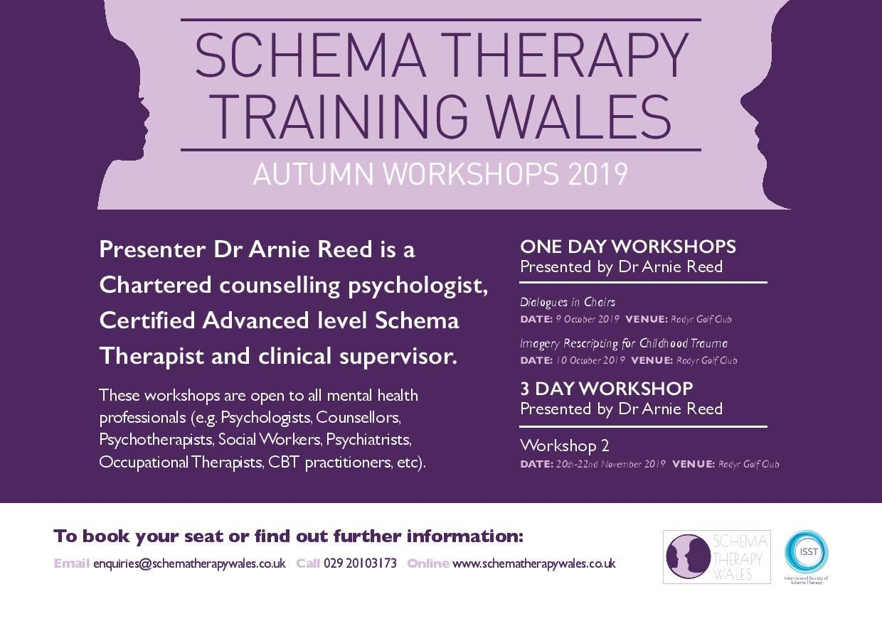 Schema Therapy Society - Training by ISST Certified Trainers